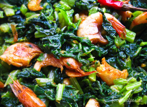 foodrecipes.cc_mustard_leaves_and_dry_prawn_2