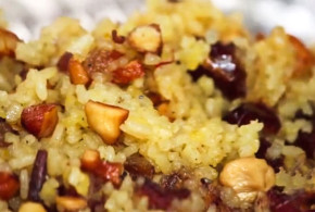 Dry Fruit Saffron Rice